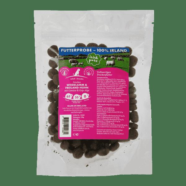 Irish Pure Futterprobe Lamm Huhn