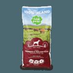 Hundetrockenfutter ohne Getreide mit Rind und Huhn