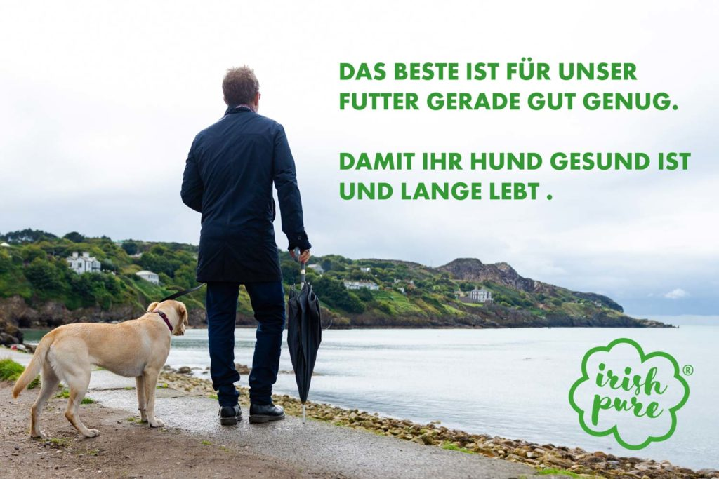 Hundefutter ohne Getreide aus Irland