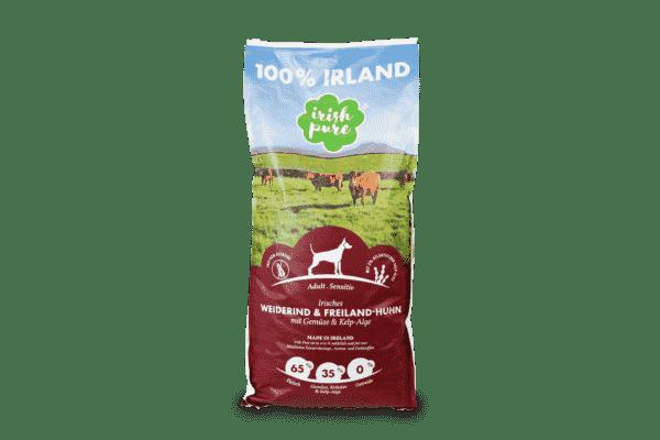 Irisches Weiderind & Freiland-Huhn mit Gemüse & Kelp-Alge, Adult